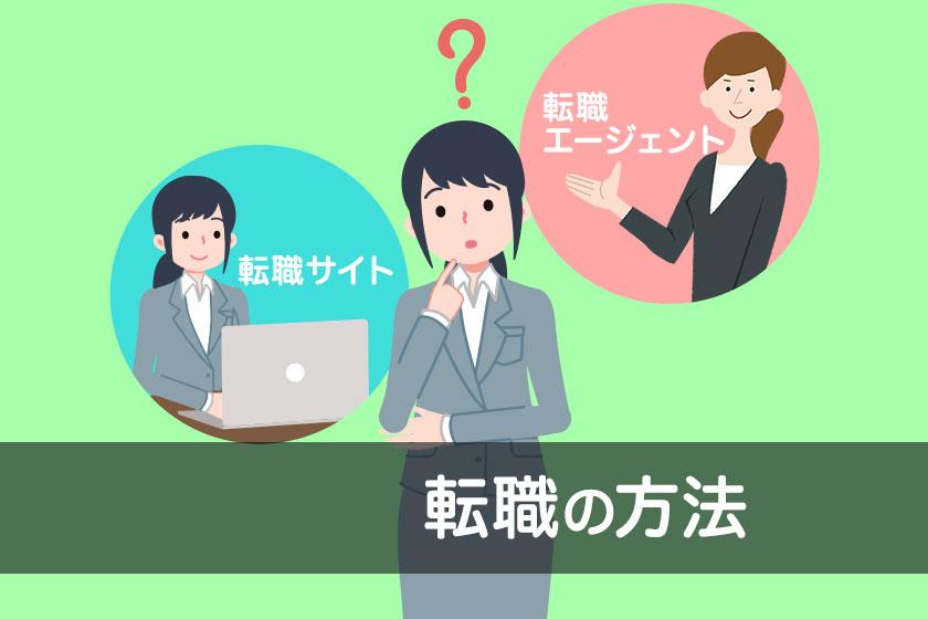 転職のやり方がわかる!流れ4ステップと5つの転職方法を解説